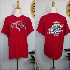 Harley Davidson Space Coast Florida T Shirt XL
